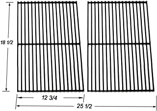 BBQ Mart 54712 Porcelain Coated Steel Wire Cooking Grid replacement for Charbroil, DCS, Kenmore Sears and other Grills, Set of 2
