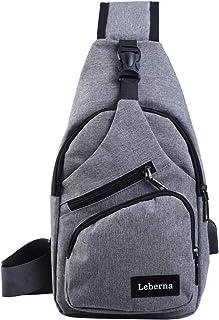 Sling Bag Lightweight Shoulder Crossbody Chest Bags Outdoor Sport Travel Backpack Daypack for Men