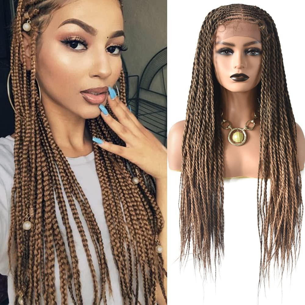 SINGA HAIR Box 超定番 Braided 商品追加値下げ在庫復活 Wigs Hand-Braids Glue-less Micro Million