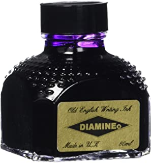 DIAMINE 80 ml Bottle Fountain Pen Ink, IMPERIAL PURPLE