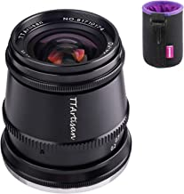 TTArtisan 17mm F1.4 広角レンズ MFT M4/3マウント カメラEPM1 EPM2 EPL1 EPL2 E-M1 E-M5 E-M10II E-MM10III PEN-F G3 G5 G6 G7 GX8 GX9 GM1GH1...