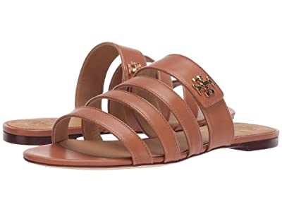 Tory Burch Kira Multi Band Sandal (Tan/Tan) Women