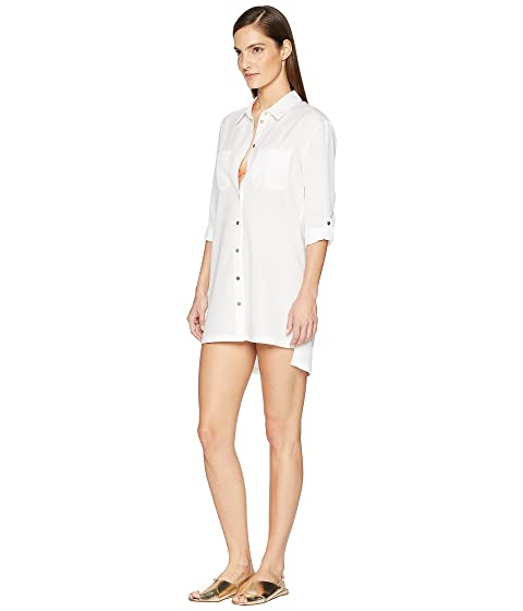 b2ccb521fa3d7 Heidi Klein Maine Oversized Shirt Cover-Up at Luxury.Zappos.com