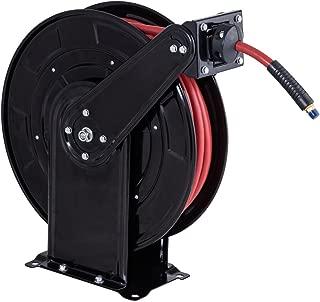 Goplus 65' Air Hose Reel w/Retractable 3/8