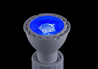 CBConcept UL-Listed MR11 GU4.0 LED Light Bulbs, 2-Pack, 2 Watt, 230 Lumen, Blue, 36° Beam Angle, 12 Volt, 20W Halogen Bulbs Equivalent, Landscape/Accent/Recessed/Track Lighting