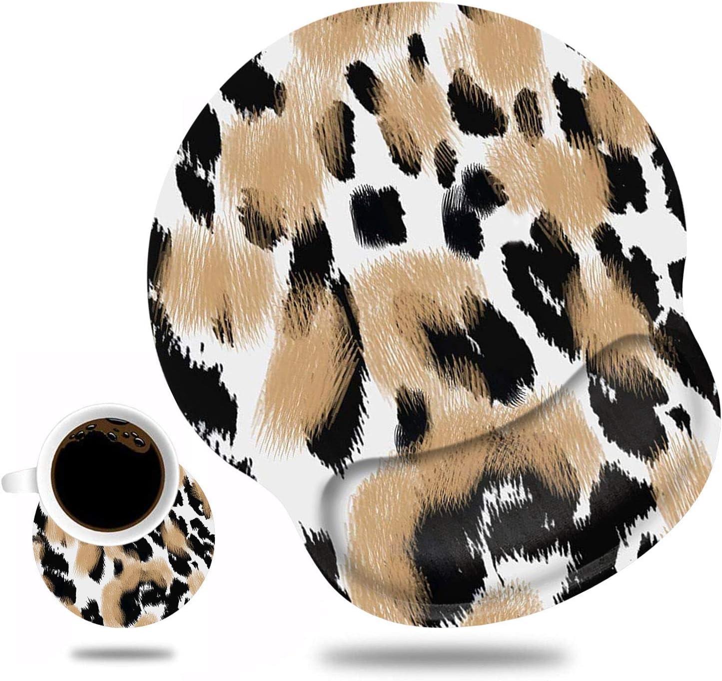 Ergonomic Mouse Pad Wrist Support and Coaster Ranking TOP1 Non Cute S Coffee Albuquerque Mall