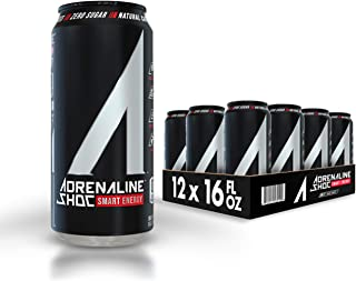 Adrenaline Shoc Smart Energy - 16 fl.oz (Pack of 12)