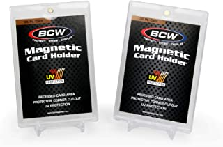 BCW Magnetic Card Holder 35 pt and 2-Piece Stand - 2 Pack