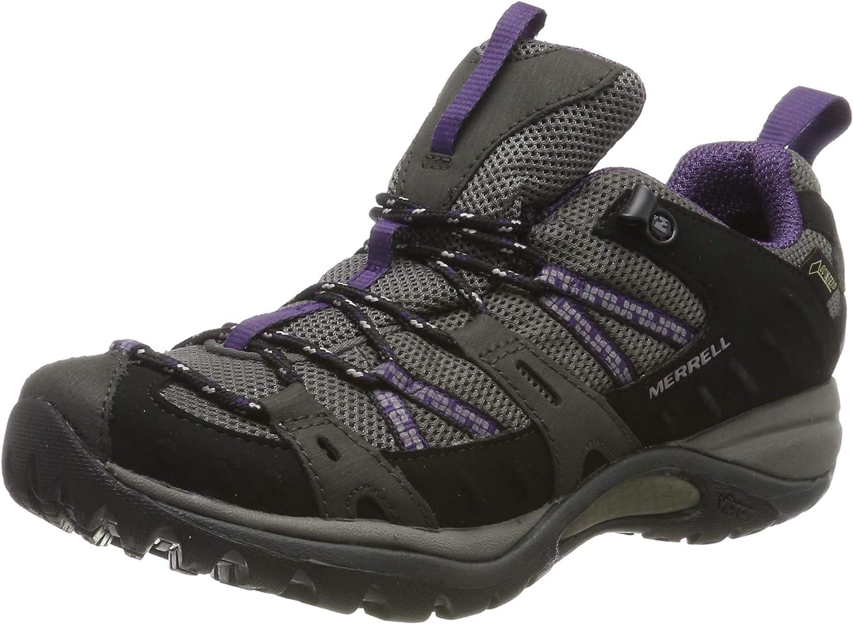 Merrell Women's Siren Sport GTX Black Perfect Plum Hiking shoes