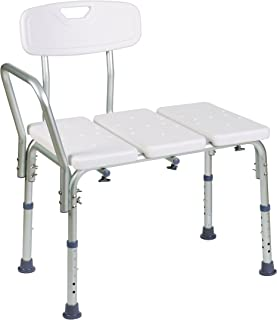Healthsmart Transfer Bench with Bactix Antimicrobial