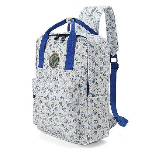 875c2d3d21ce Floral Tote Bag Shoulder Bag Gym Hiking Picnic Travel Beach bag for women  girl