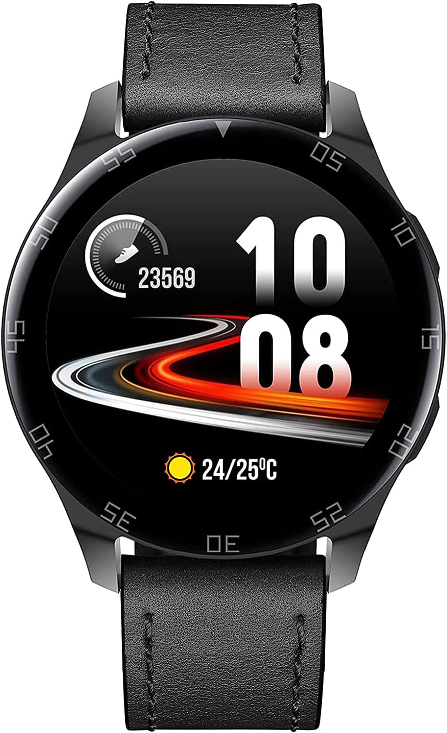SmartWatch Complete Free Shipping Fitness Watch Baltimore Mall Ladies Men 1.28 Tracker wi Inch