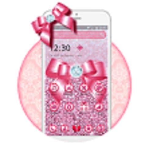 Blush Pink Bow Theme 2D