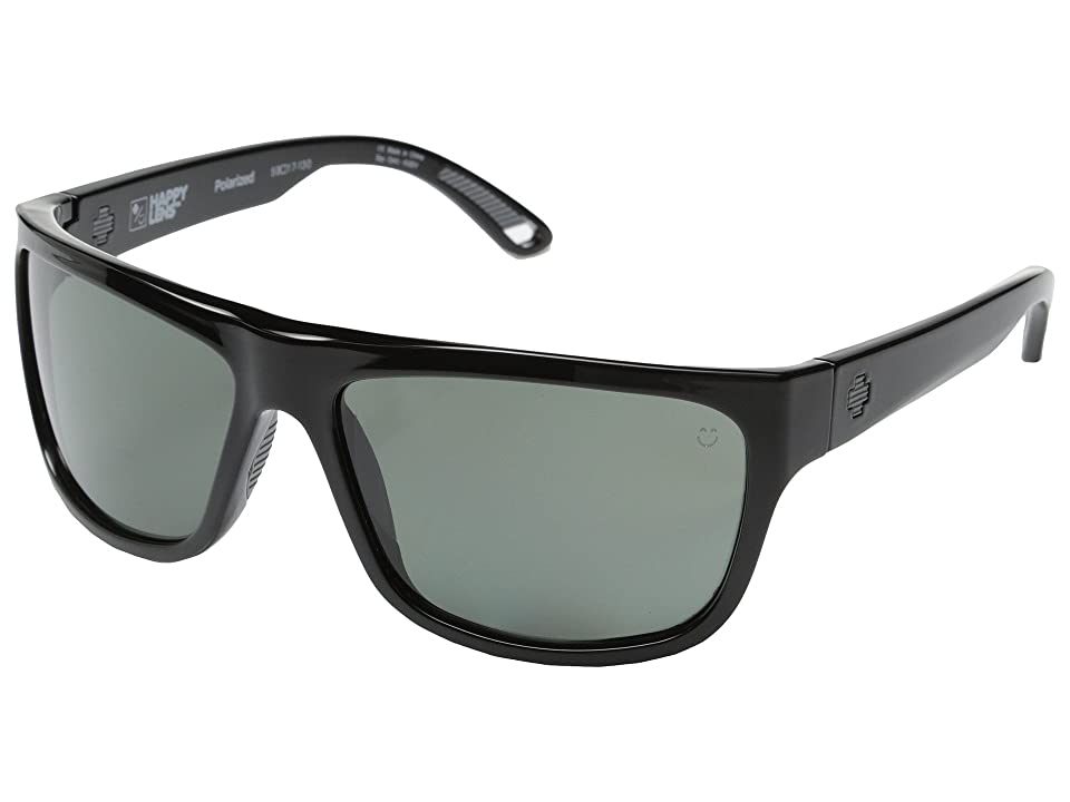 Spy Optic Angler Polarized (Black/Happy Grey Green Polar) Polarized Fashion Sunglasses