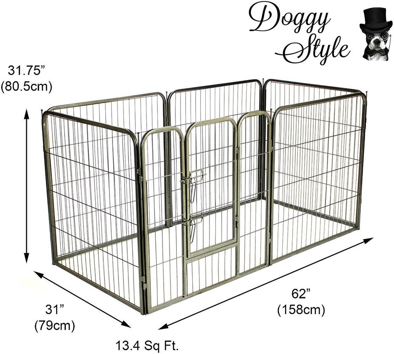 Doggy Style Heavy Duty Puppy Play Pen, Medium