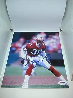 Autographed Merton Hanks Photo - 8x10 COA 1A - PSA/DNA Certified - Autographed NFL Photos