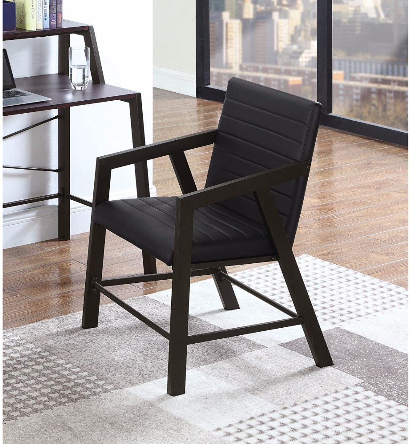Benzara BM159422 Accent Chairs Black