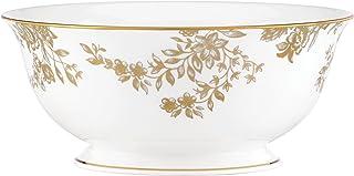 Lenox Marchesa Gilded Forest Serving Bowl, White