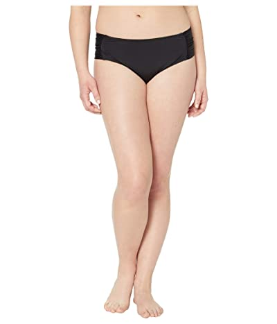 BECCA by Rebecca Virtue Plus Size Color Code Hipster Bottoms (Black) Women