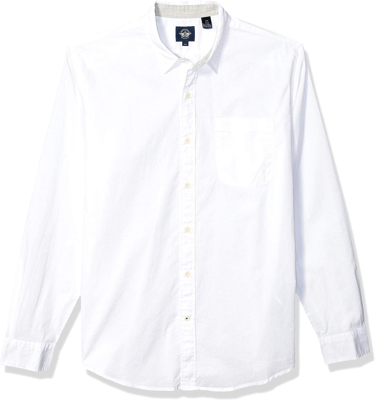 Dockers Men's Long Sleeve Alpha Button Down Shirt