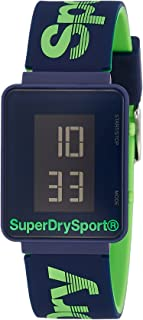 Superdry Sprint Digi Digital Black Dial Men's Watch - SYG204UN