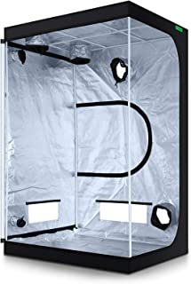 """VIPARSPECTRA 48""""x48""""x80"""" Reflective 600D Mylar Hydroponic Grow Tent for Indoor Plant Growing 4`x4`"""