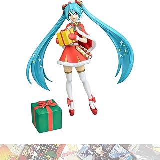 Hatsune Miku [Christmas 2019]: 23cm Vocaloid S.P.M. Statue Figurine Bundled with 1 A.C.G. Trading Card (1035435)