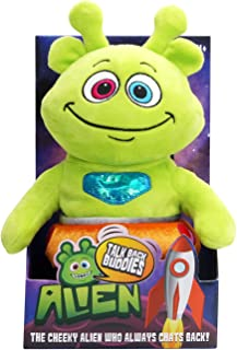 Woodyotime Moving and Talking ET Toys Repeats What You Say Plush Toy Interactive Toys for Children Birthday