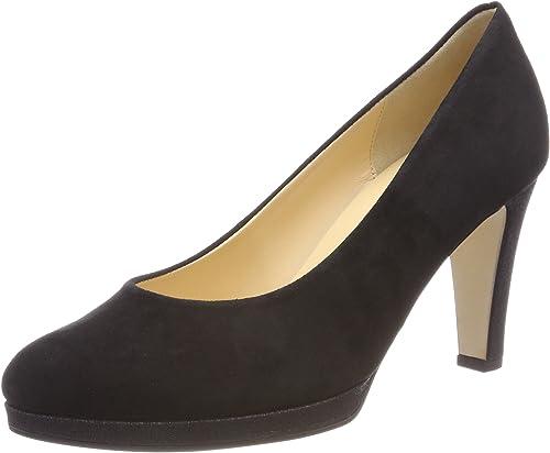 Gabor schuhe Gabor Fashion, schuhe de Tacón para damen, schwarz (Schwarz Natur), 37 EU