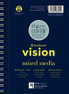 Strathmore 662-55 Vision Mixed Media Pad, 5.5