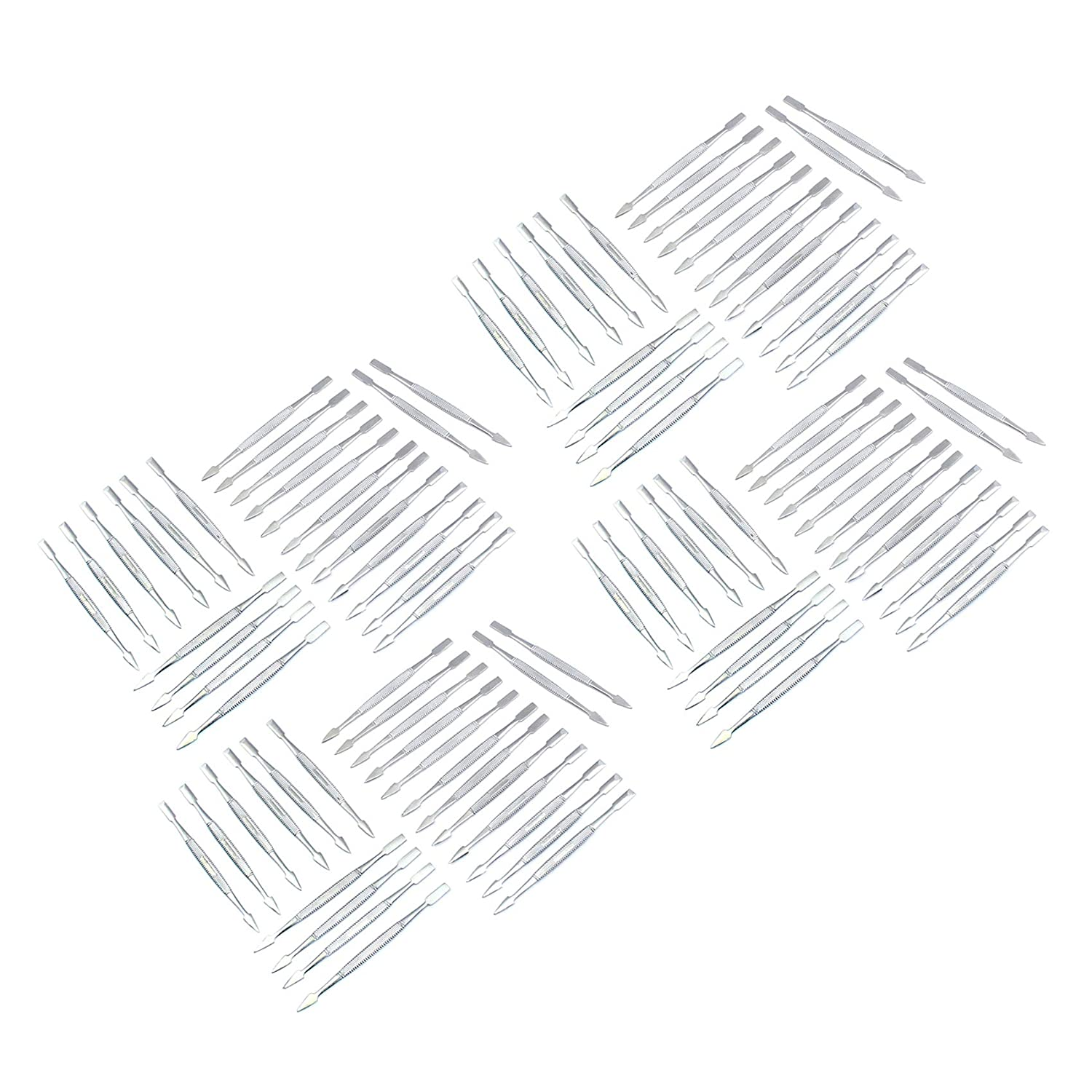 OdontoMed2011 Lot Of 100 Professional Award Nail Chrome Baltimore Mall Cuticle Pusher