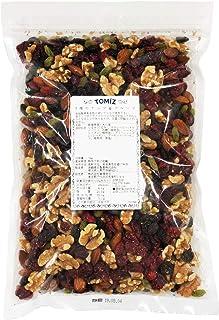 5種のナッツ&フルーツ/ 1kg TOMIZ/cuoca(富澤商店) 素焼き くるみ アーモンド レーズン クランベリー ミックスナッツ