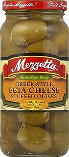 Mezzetta Greek-Style Feta Cheese Stuffed Olives, 9.5 oz