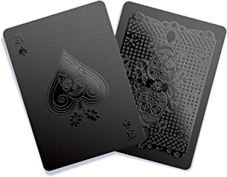 Gent Supply Black Waterproof Playing Cards - Day of The Dead