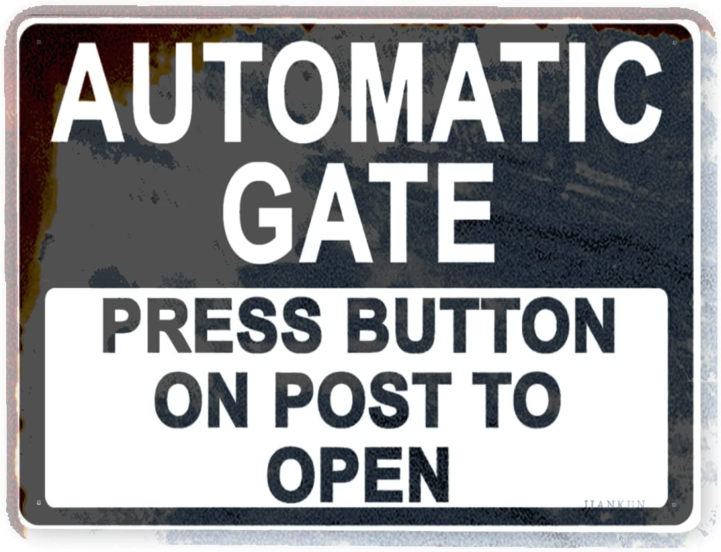 J.DXHYA Man Cave Decor Overseas parallel import regular item 2 Automati Max 47% OFF Sign Warning Pieces Rules