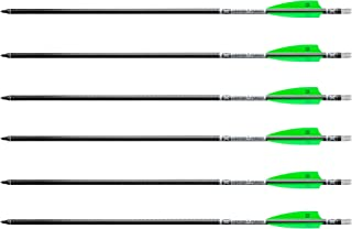 Tenpoint Evo-X Center Punch Carbon Crossbow Arrows with Omni Nocks, 20