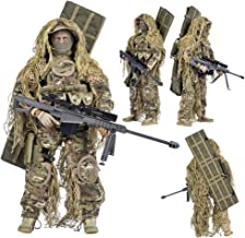 YEIBOBO ! Highly Detail Special Forces 12inch Action Figure SWAT Team (All Terrain Sniper)