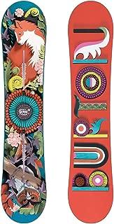 "BURTON Women'S Genie"" Beginner Flat TOP Snowboard Channel Binding System 152CM"