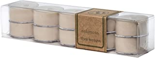 Eco Candle Co. Tea Light Candles, Oakmoss, 10-Pack - Recyclable, 100% Soy Wax, No Lead, Hand Poured, Phthalate Free, Made ...