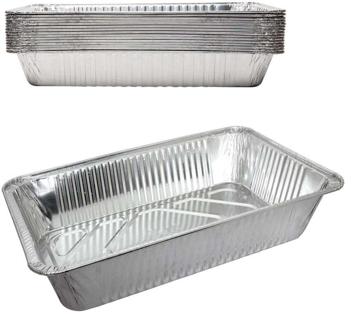Durable In stock Disposable Aluminum Popular Foil Steam Size Full Pans D Roaster