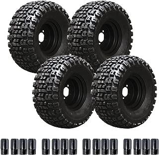 EZGO 750191PKG 22-Inch Terra Trac Tire with 10-Inch Black Steel Wheel Package
