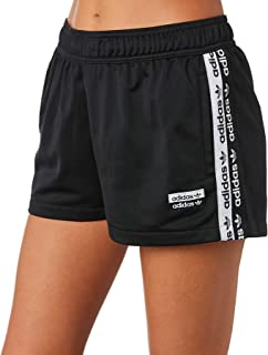 Adidas Women's Tape Shorts Polyester Black