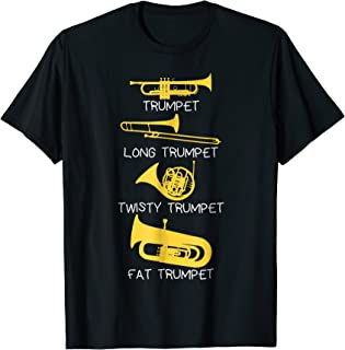 funny trumpet player