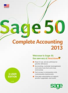 Sage 50 Complete Accounting 2013 US 3-User [Download]