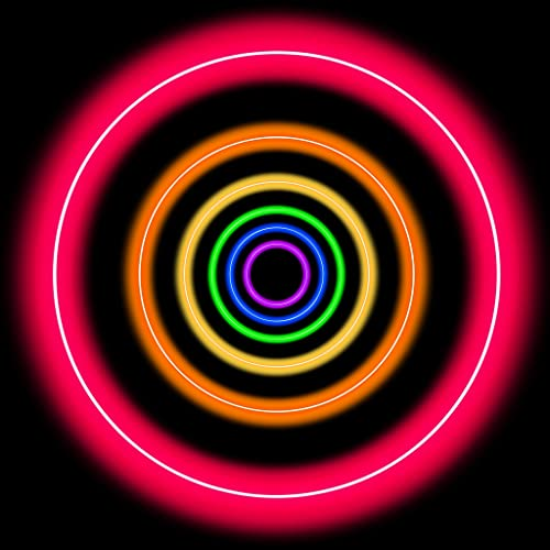 Neon Space Ball - Classic pong game with neon glow graphics