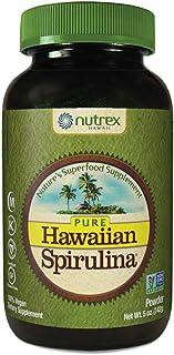 Pure Hawaiian Spirulina Powder 5 Ounce - Natural Premium Spirulina from Hawaii - Vegan, Non-GMO, Immunity Support - Superf...