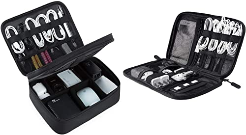 new arrival BAGSMART Electronic Organizer new arrival Set, Small Cable Case for Daily Use, Large Suittable popular for Organisation at Home outlet sale
