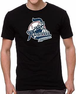 Rieleros de Aguascalientes Baseball Men's T-Shirt Crew Neck 100% Cotton