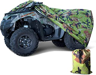 Capa à prova d'água para chuva ATC Quad Bike ATV Preta 190T XGG tamanho 221 x 100 x 108 cmTokept Tokept-10017