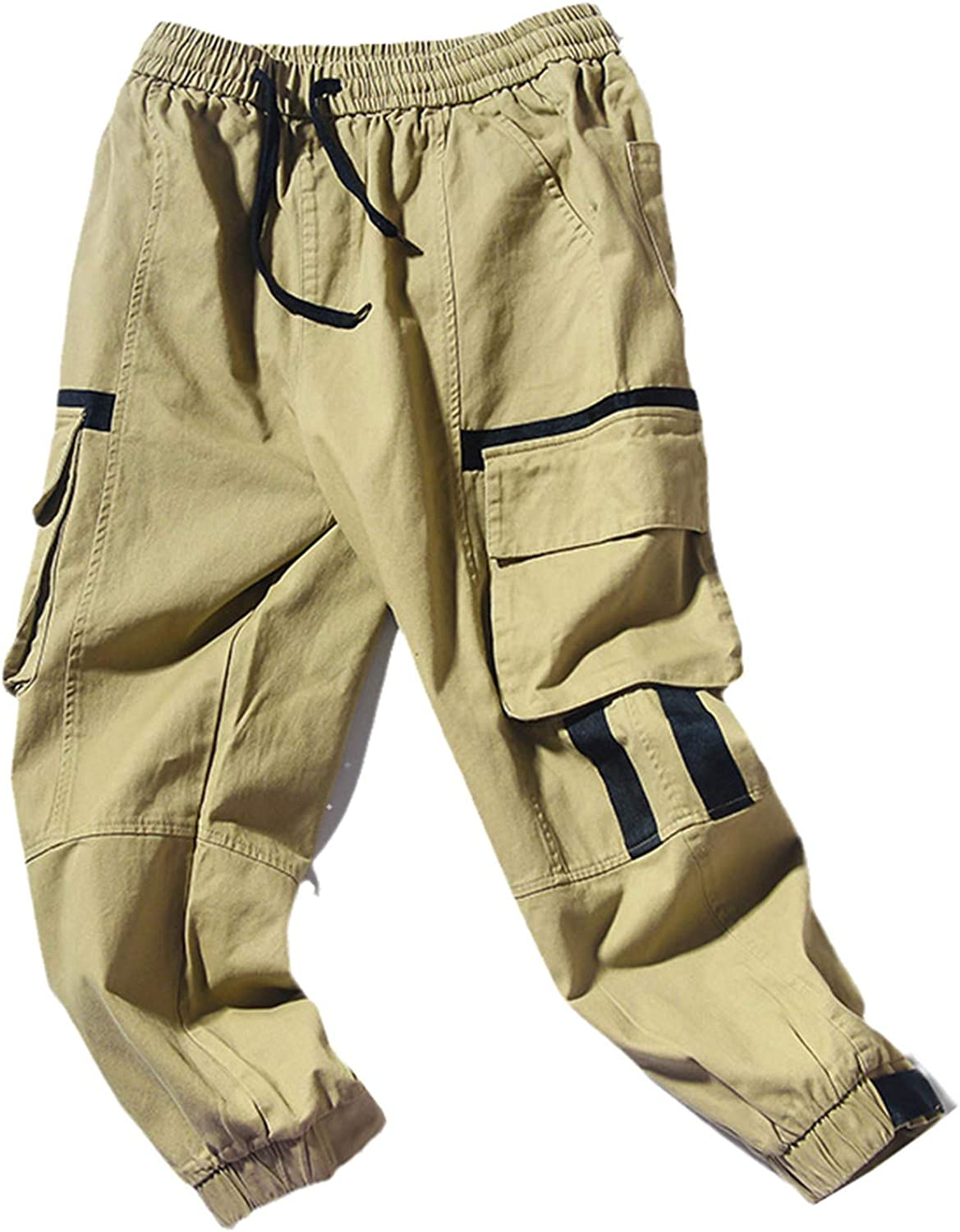 USTZFTBCL Men's Cargo Pants Opening large release sale Fashion Slim Men Free shipping anywhere in the nation Fit Trousers Trend